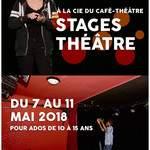 Stage de théâtre pour les 10-15ans