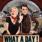 What a day ! - Duo voix (machine à écrire) et contrebasse.