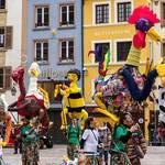 Animation de rues - marionnettes géantes