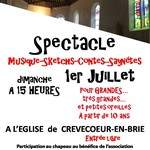 Spectacle contes & musique