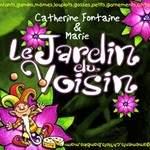Le jardin du voisin nouvel album jeune public de catherine fontaine et marie, dans les bacs le 6 novembre 2007 (blue velvet/victor mélodie, ref : 533013)