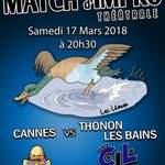 Match d'impro Cannes / Thonon-les-Bains
