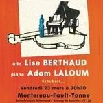 Concert de Poche : Lise BERTHAUD alto, Adam LALOUM piano