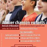 Amicale Abondant - Atelier Chanson