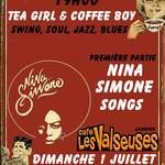 """Concert Tea Girl & Coffee Boy """"Nina Simone Songs"""" jam swing"""