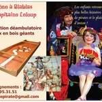 """Cie Jeanlou GLAD - """"LE TRONE A BLABLAS DU CAPITAINE LE LOUP"""""""