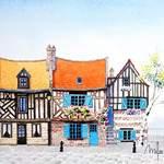 côté aquarelle, cours de dessin et peinture -  tous niveaux - à  Amiens