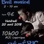 Frédéric Bardet: chanson spectacle