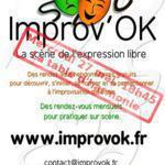 Initiation, découverte, perfectionnement au théâtre d'improvisation
