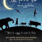 """La petite fille aux grelots """" Conte musical jeune public pour une danseuse et un musicien"""