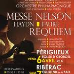Requiem Faure et la Messe de Haydn dit Nelson