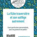 L'ATELIER DU FLÛTISTE - Cours de Flûte traversiere