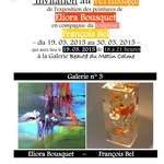 Exposition personnelle d'Eliora Bousquet (peinture)