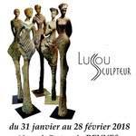 Lussou, terres et bronzes, Galerie Laute à Rennes