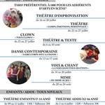 Stage d'été Théâtre d'improvisation à Arts en Scène