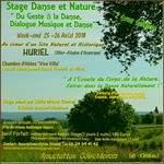 DANSE- DÉTENTE - NATURE  Du Geste à la Danse
