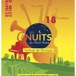 Festival Les Nuits du Mont Rome 2018