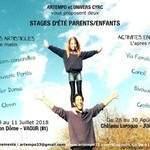 Stage d'été Parents/Enfants pluridisciplinaire