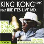 KING KONG ft IRIE ITES LIVE MIX + Zion High