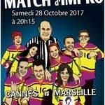 Match d'improvisation théâtrale LIC vs Les Improsteurs