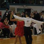 Recherche d'un partenaire en danse sportive
