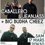 Caballero & JeanJass + Big Budha Cheez en concert