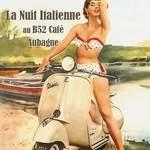 Soirée ITALIENNE au B52 CAFE