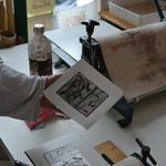 Nicole FRAYSSE Atelier d'Akané - atelier d'arts plastiques et d'initiation à la gravure et aux techniques de l'estampe.