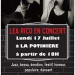 Léa Rico en concert apéro à La Potinière