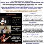 Cours Chant/Guitare/Basse, Atelier Jazz, Musique Actuelle...