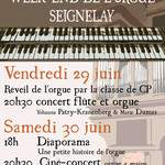 ciné-concert orgue à 4 mains