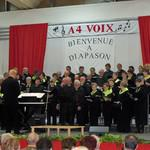 concert donné par la chorale diapason