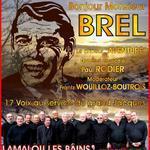 Concert : BONJOUR Monsieur  BREL