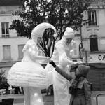 Les anges de passage : déambulation lumineuse sur échasses