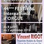 44ème Festival international d'orgue - Vincent RIGOT
