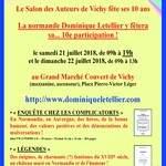 Dominique Letellier et le Salon de Vichy fêtent 10 ans