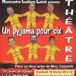 Théâtre amateur Un pyjama pour 6
