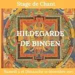 STAGE DE CHANT HILDEGARDE DE BINGEN