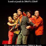 Atelier Théâtre Panis Paris 11 - Ateliers théâtre pour adultes jeudi et lundi soir