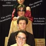 "Cie  theatre musical populaire - ""Le Cabaret Populaire"" spectacle en appartement"