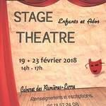 Stage de Théâtre Enfants et Adolescents