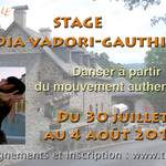 Danser à partir du Mouvement authentique