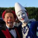 Les clowns Benjy et Dimy