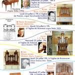 Concert d'orgue par Claude Roser à l'église de Haegen