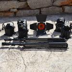 A vendre : 6 projecteurs Multibeam OXO