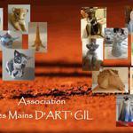 Association LES MAINS D'ART'GIL - Ateliers hebdomadaires de modelage adultes et enfants