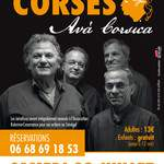 AVA Corsica: concert de polyphonies et chants corses