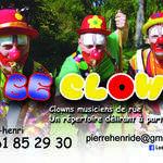2 Be Clowns - 3 clowns musiciens