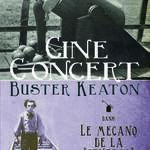 """Ciné-concert - Buster Keaton - Le mécano de la """"general"""""""