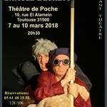 """""""Fin de partie"""" samuel beckett Théâtre de Poche Toulouse"""